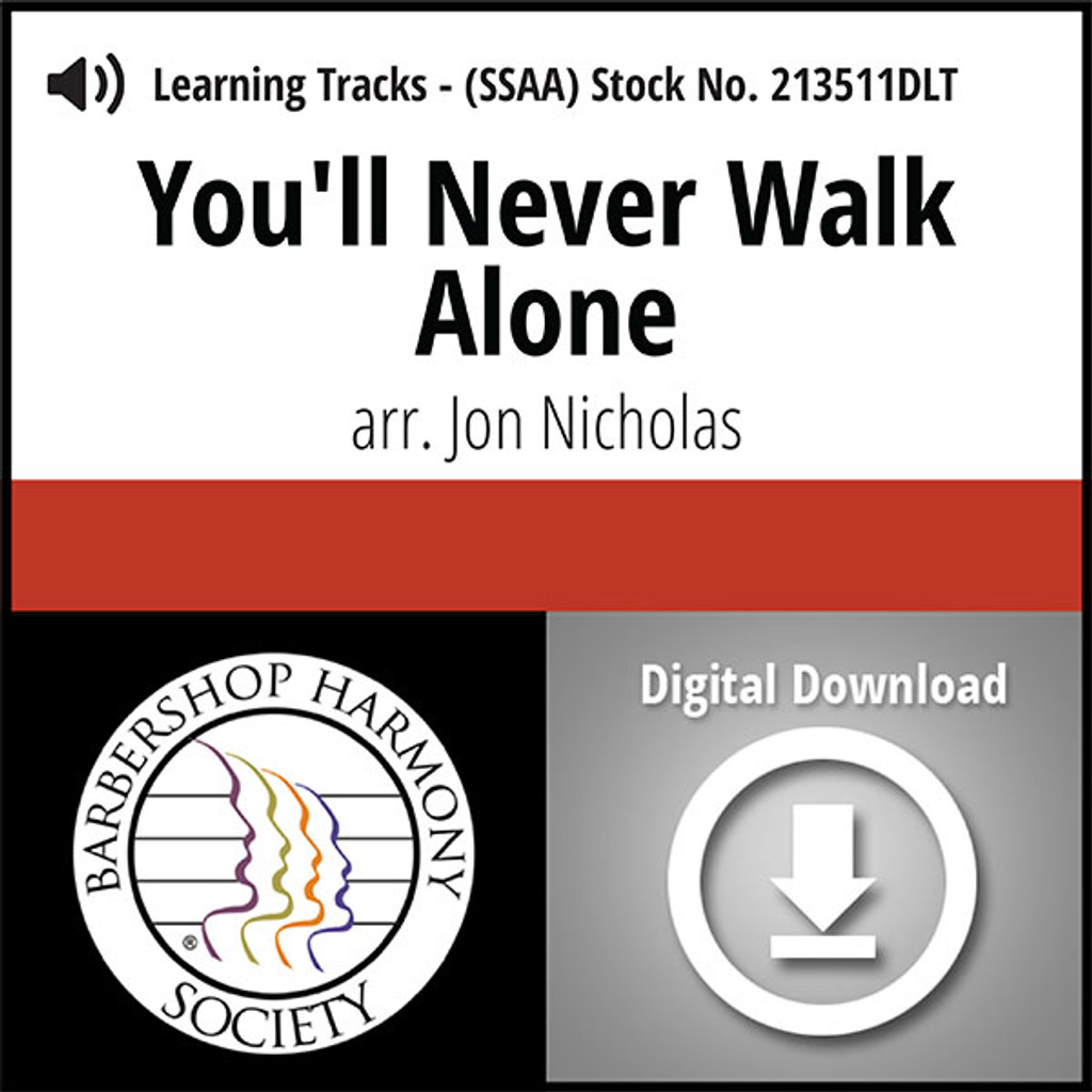 You'll Never Walk Alone (SSAA) (arr. Nicholas) - Digital Learning Tracks for 213510