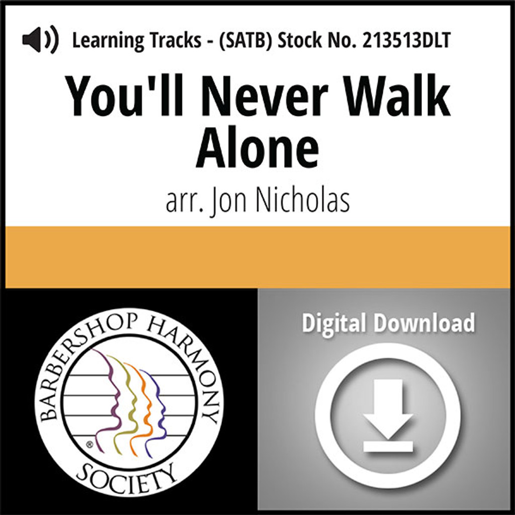 You'll Never Walk Alone (SATB) (arr. Nicholas) - Digital Learning Tracks for 213512
