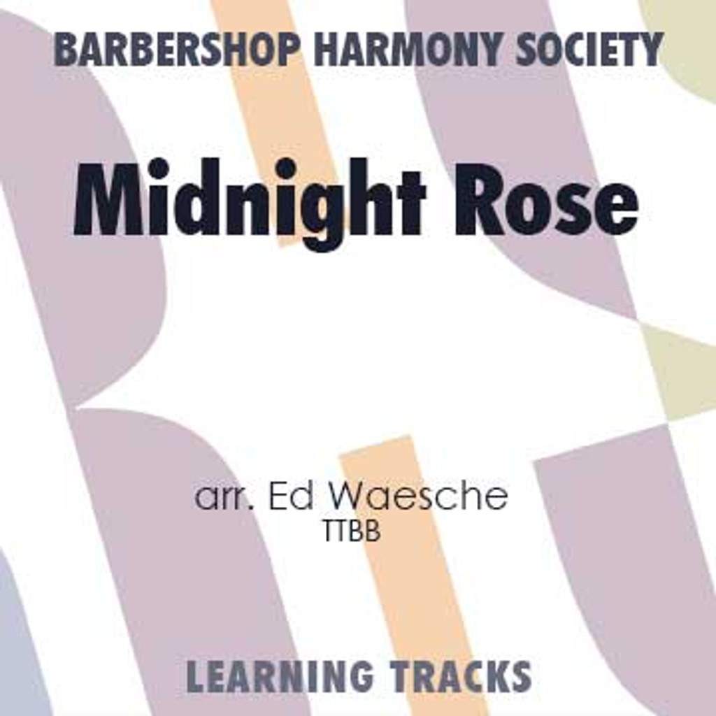 Midnight Rose (TTBB) (arr. Waesche) - Digital Learning Tracks for 7141