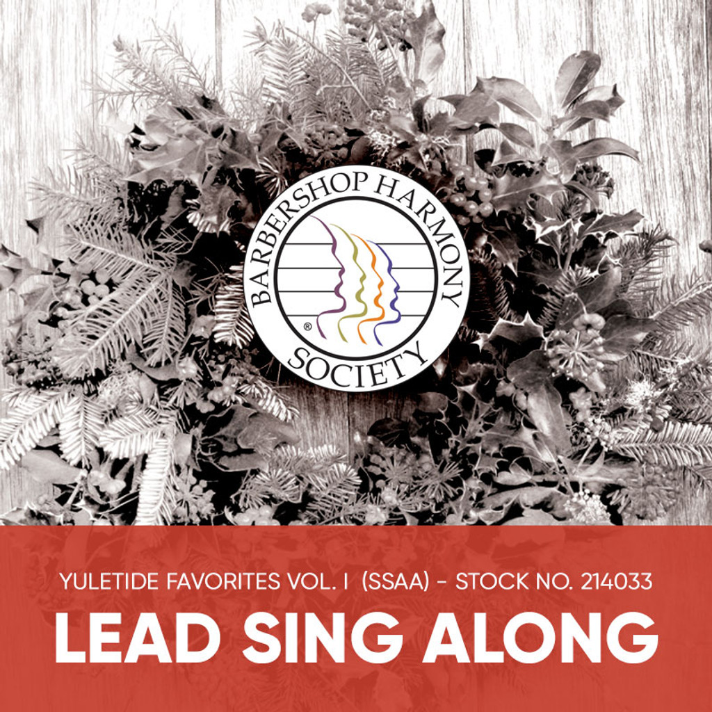 Yuletide Favorites Vol. I (SSAA) - Lead Sing Along Tracks - (Full Mix minus Lead) for 214017