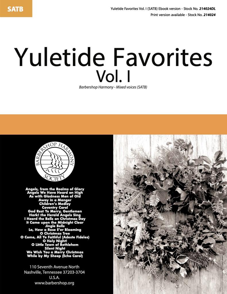 Yuletide Favorites Vol. I Songbook (SATB) - Download