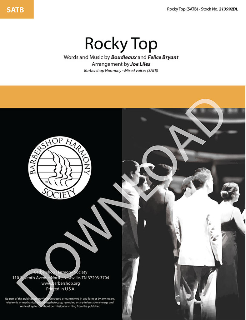 Rocky Top (SATB) (arr. Liles) - Download