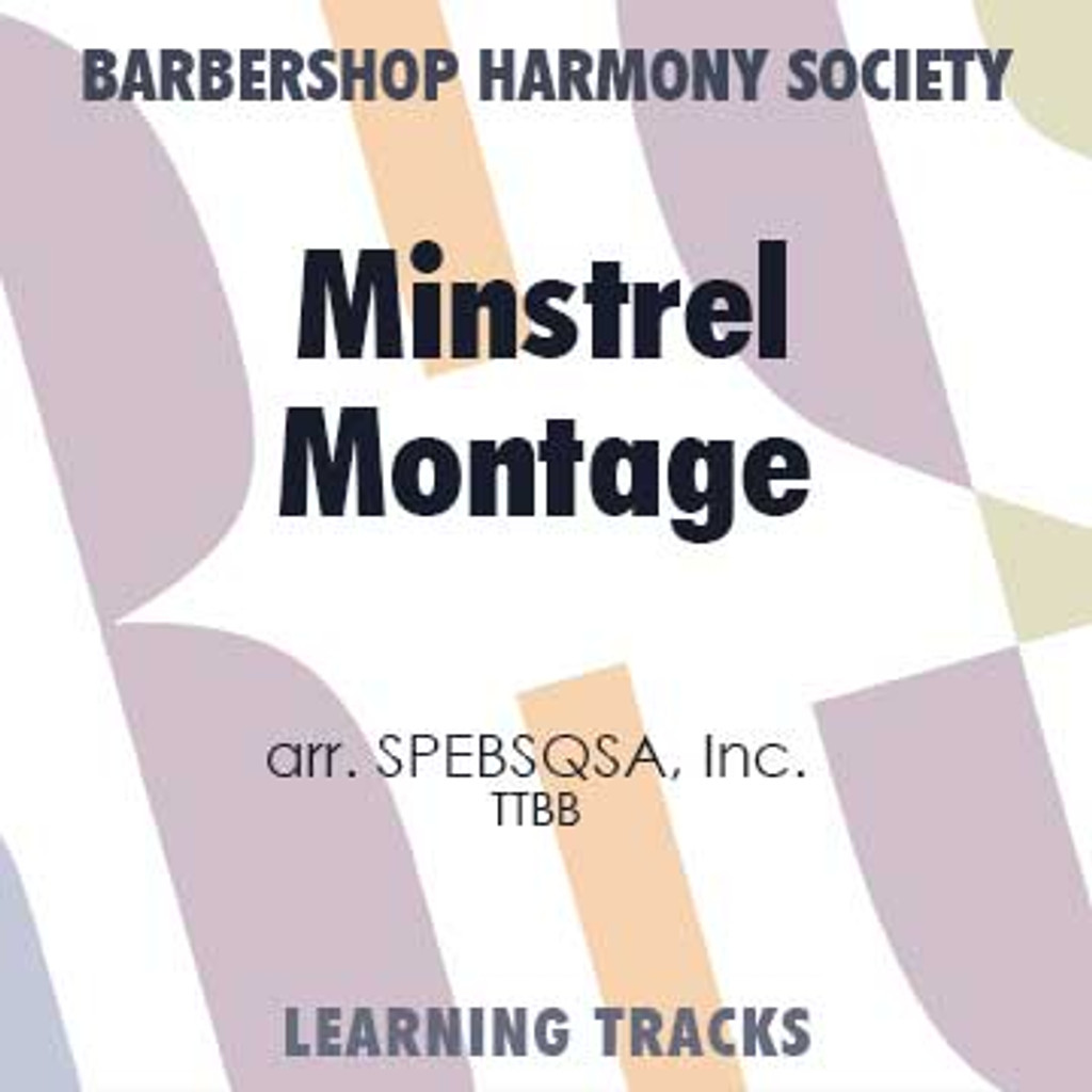 Minstrel Montage (TTBB) (arr. BHS) - Digital Learning Tracks for 7636