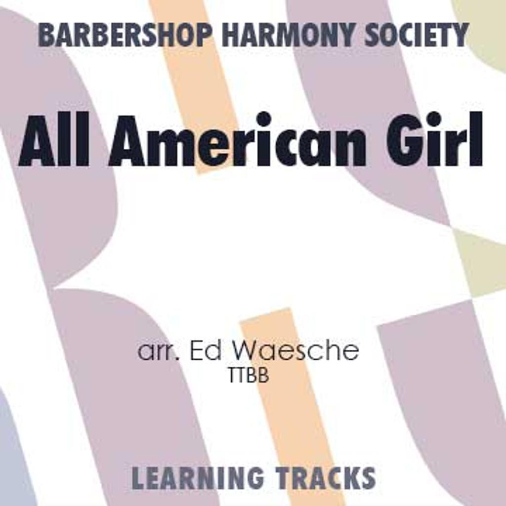 All American Girl (TTBB) (arr. Waesche) - Digital Learning Tracks for 7235