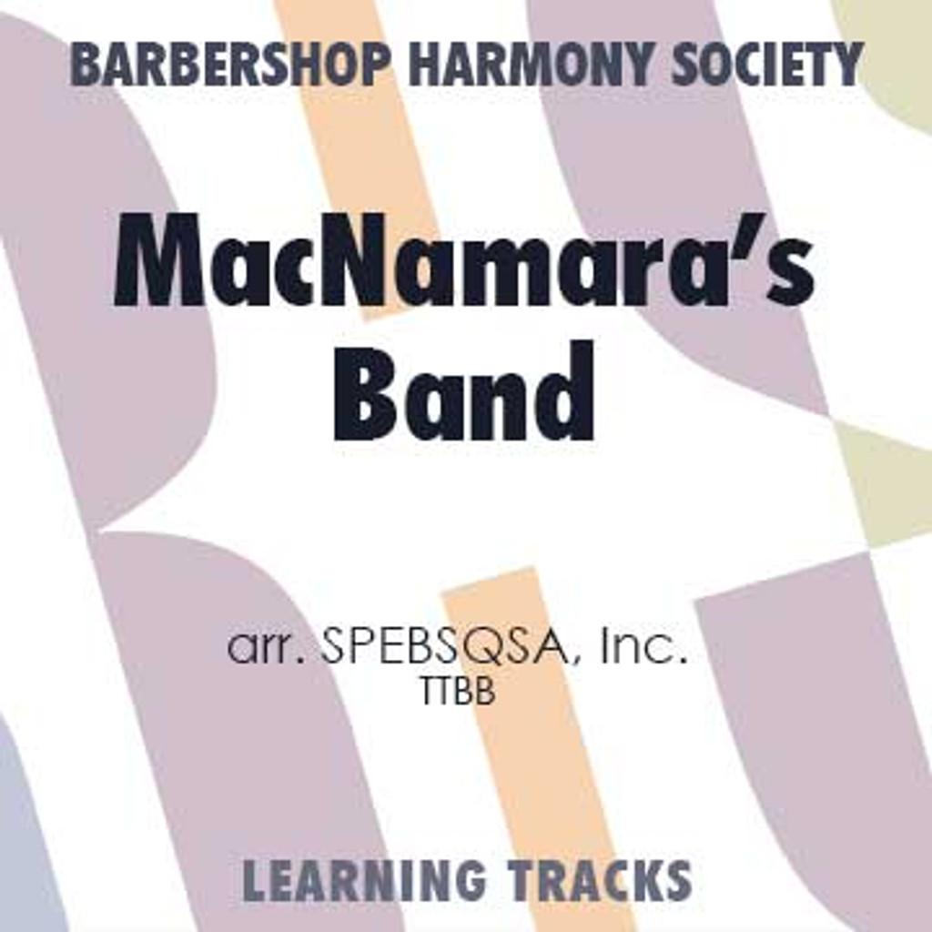 MacNamara's Band (TTBB) (arr. BHS) - Digital Learning Tracks for 7705