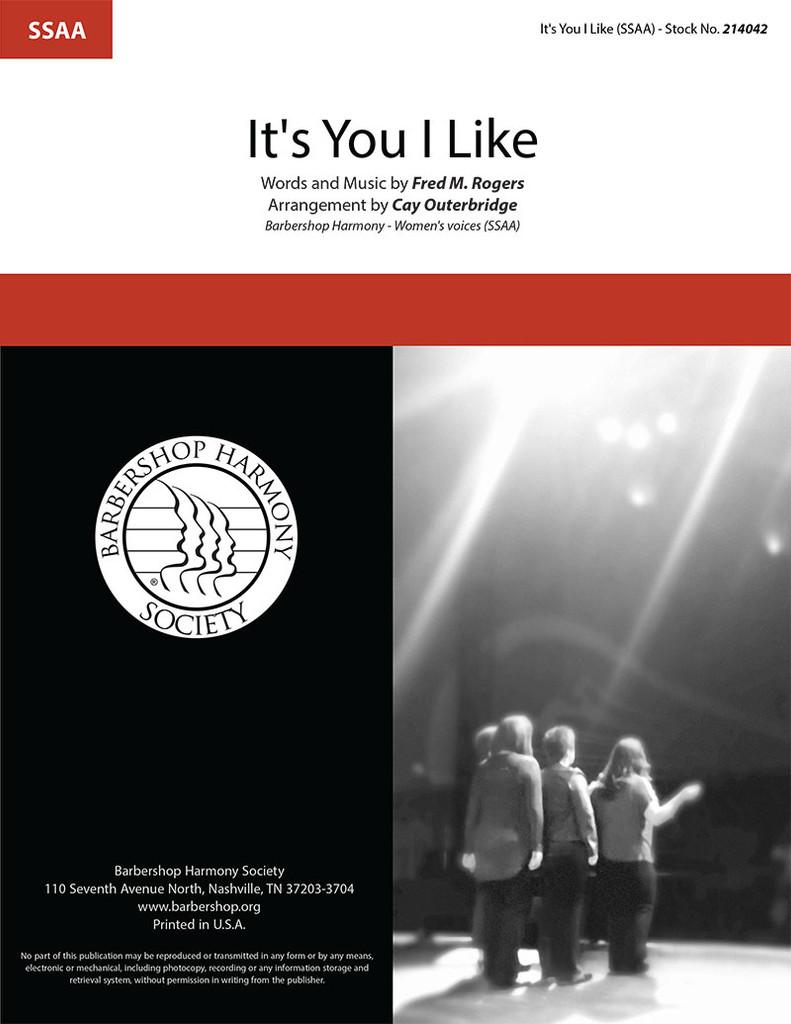 It's You I Like (SSAA) (arr. Outerbridge)