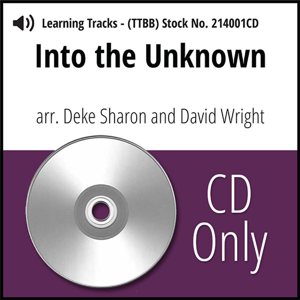Into the Unknown (TTBB) (arr. Sharon & Wright) - CD Learning Tracks for 213998