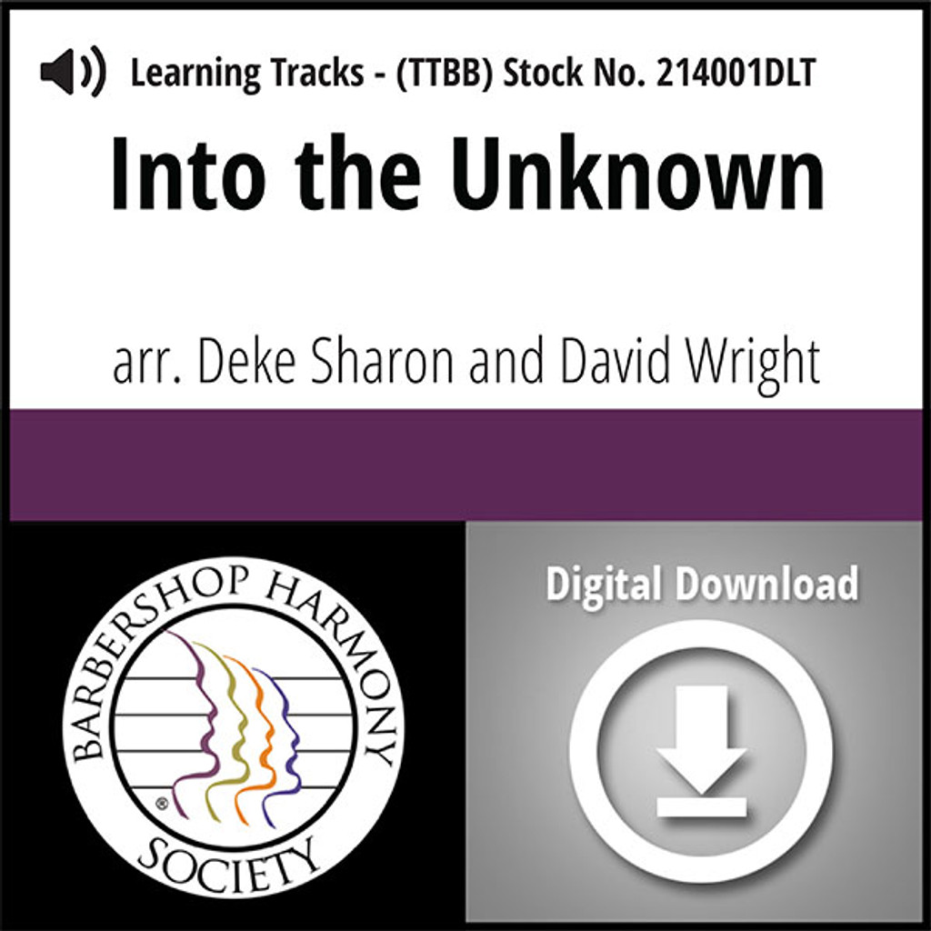 Into the Unknown (TTBB) (arr. Sharon & Wright) - Digital Learning Tracks for 213998