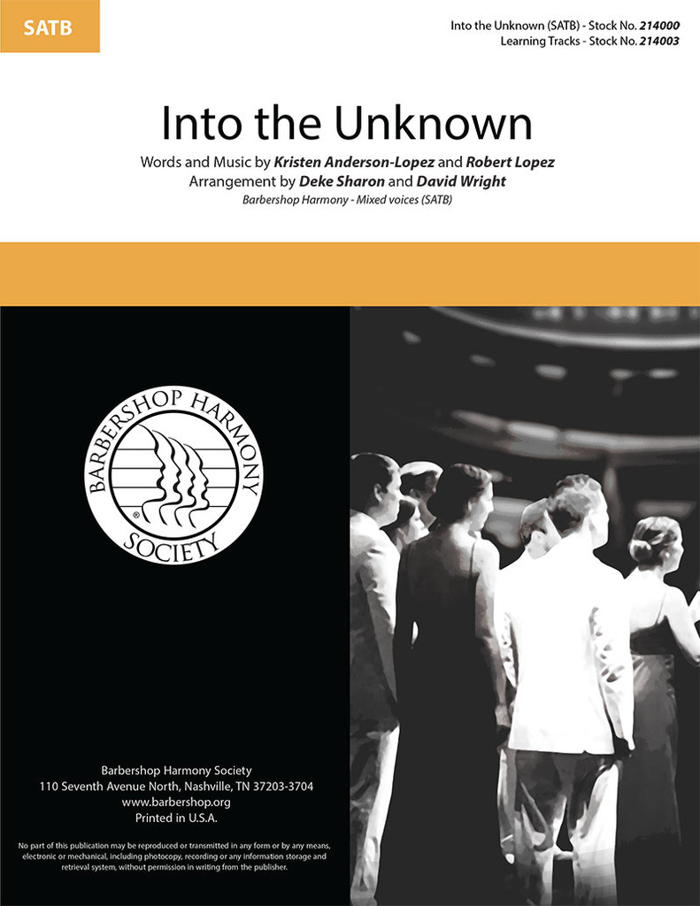 Into the Unknown (SATB) (arr. Sharon & Wright)