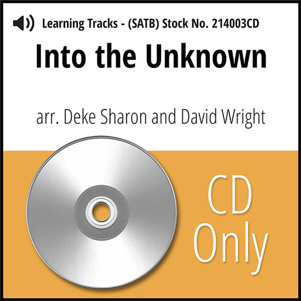 Into the Unknown (SATB) (arr. Sharon & Wright) - CD Learning Tracks for 214000
