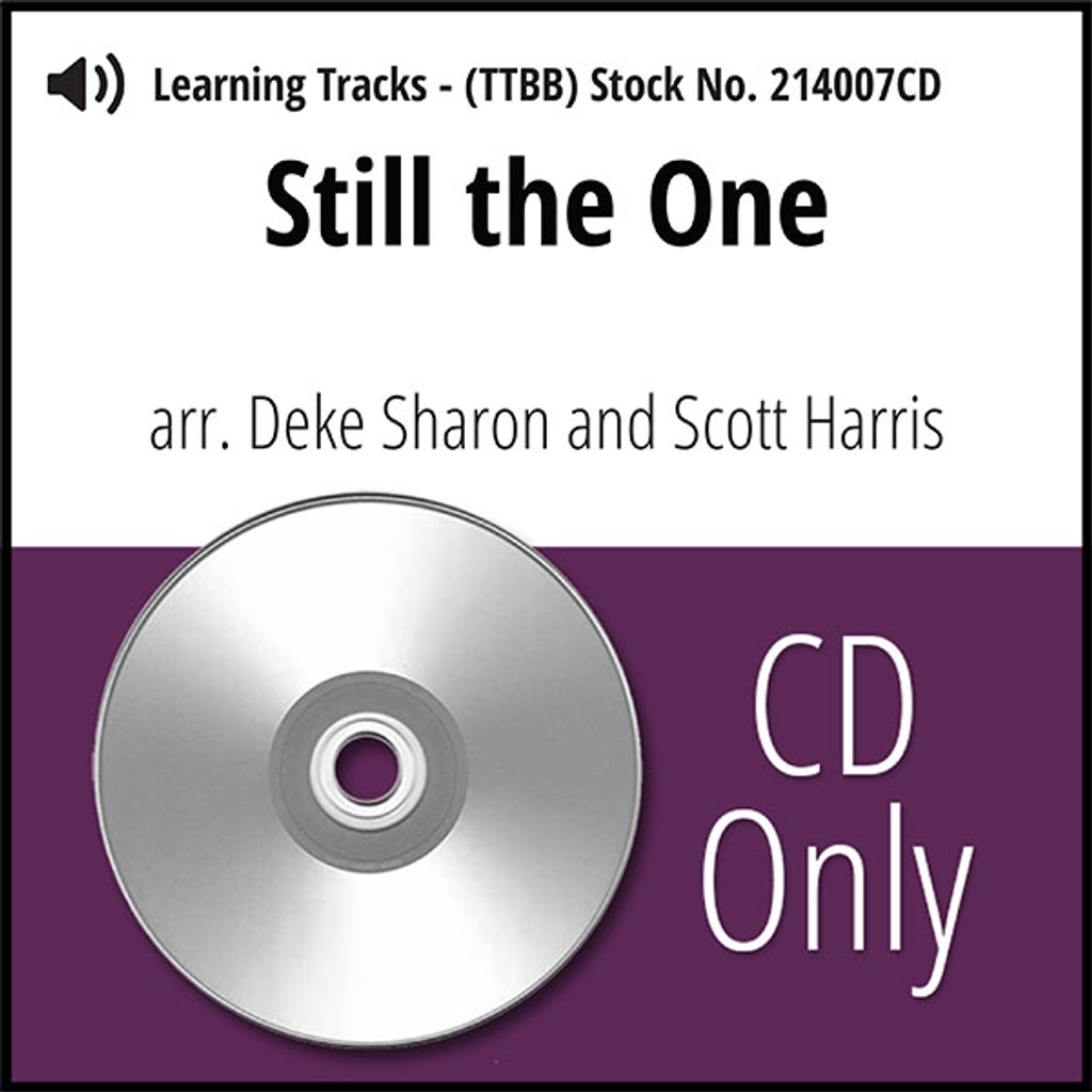 Still the One (TTBB) (arr. Sharon & Harris) - CD Learning Tracks for 214004