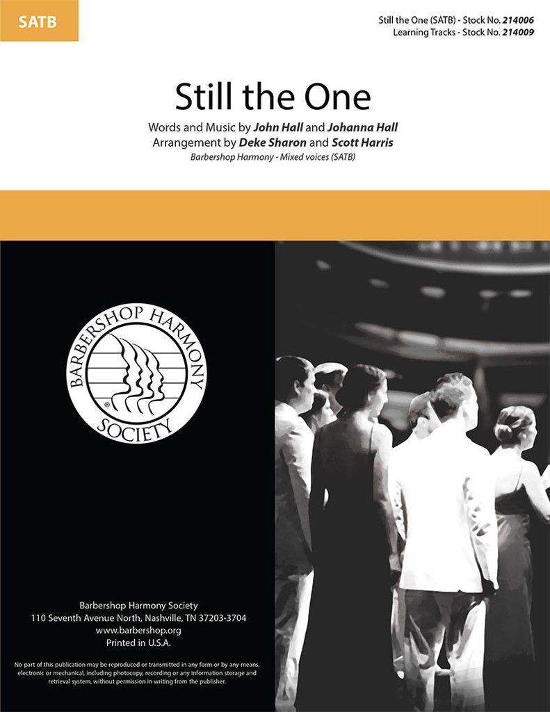 Still the One (SATB) (arr. Sharon & Harris)