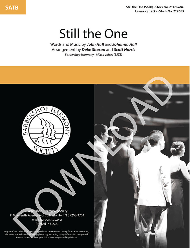 Still the One (SATB) (arr. Sharon & Harris) - Download