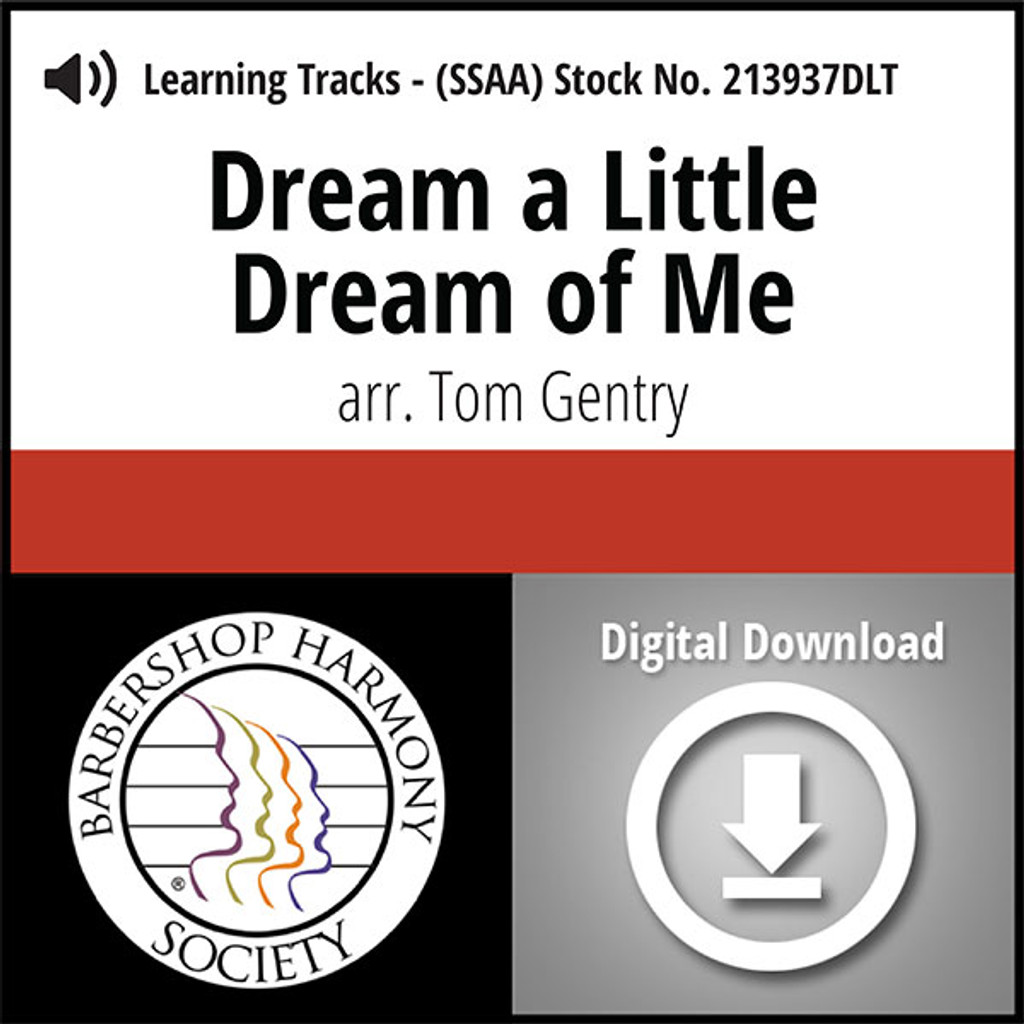 Dream a Little Dream of Me (SSAA) (arr. Gentry) - Digital Learning Tracks for 213936