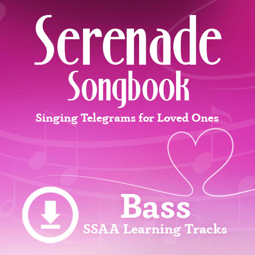 Serenade Songbook (SSAA) (Bass) - Digital Learning Tracks for 214100