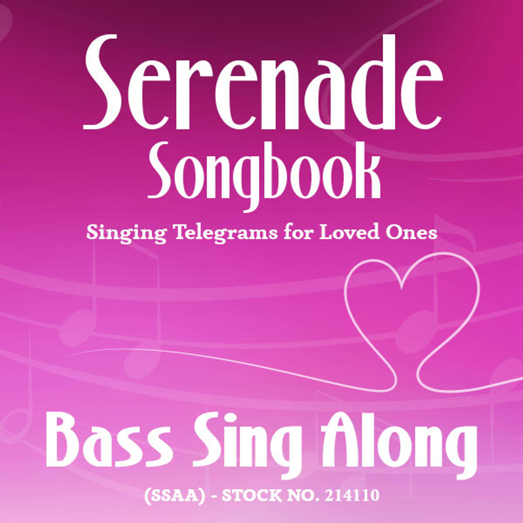 Serenade Songbook (SSAA) - Bass Sing Along Tracks - (Full Mix minus Bass) for 214100