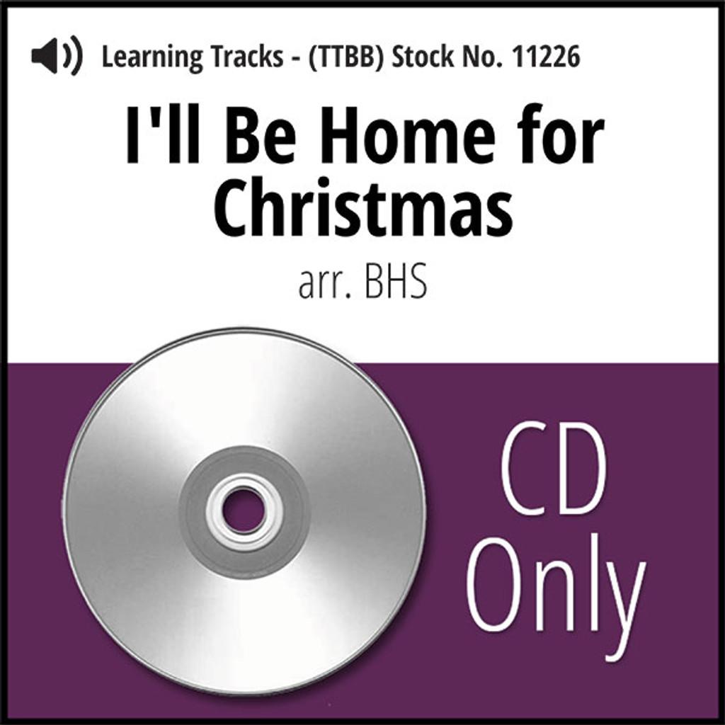 Ill Be Home For Christmas Dvd.I Ll Be Home For Christmas Ttbb Arr Bhs Cd Learning Tracks For 7626