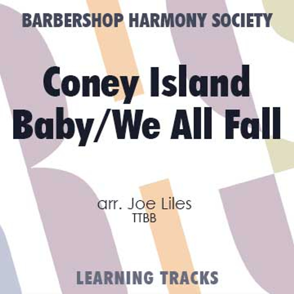 Goodbye, My Coney Island Baby / We All Fall (TTBB) (arr. Liles) - CD Learning Tracks