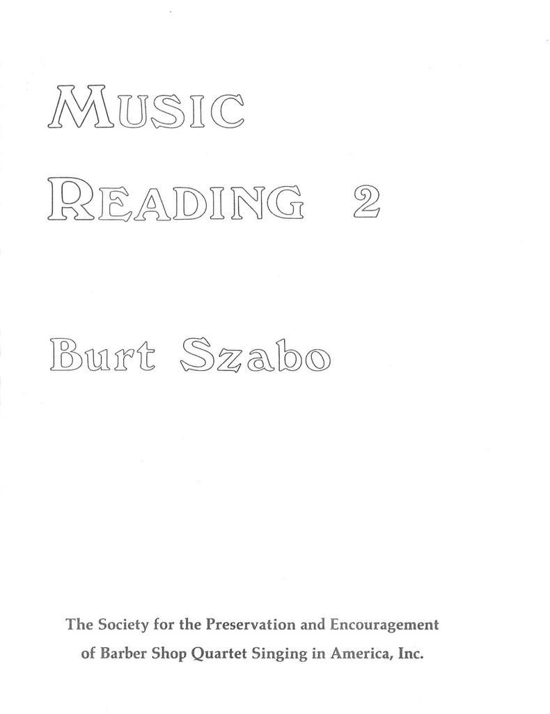 Music Reading II