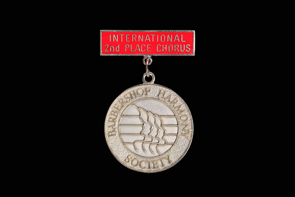 2nd Place Int'L Chorus Medallion