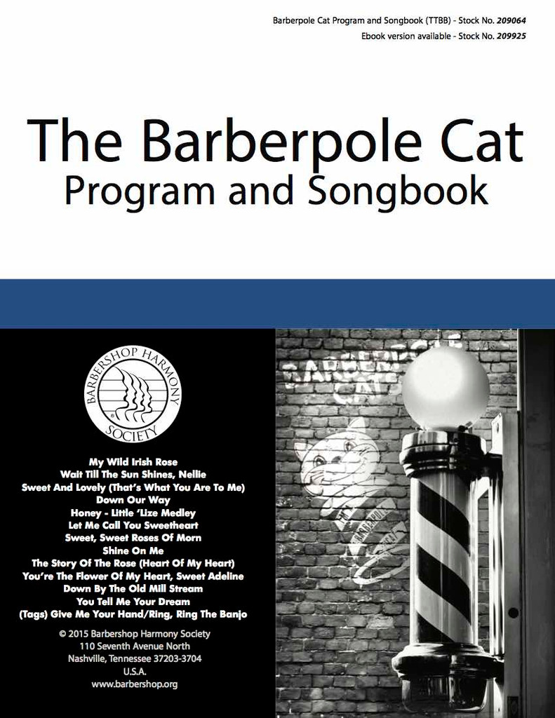 Barberpole Cat Songbook Vol. I - Print