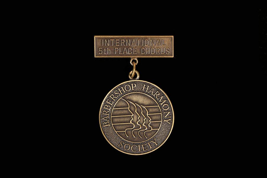 5th Place Chorus Medallion
