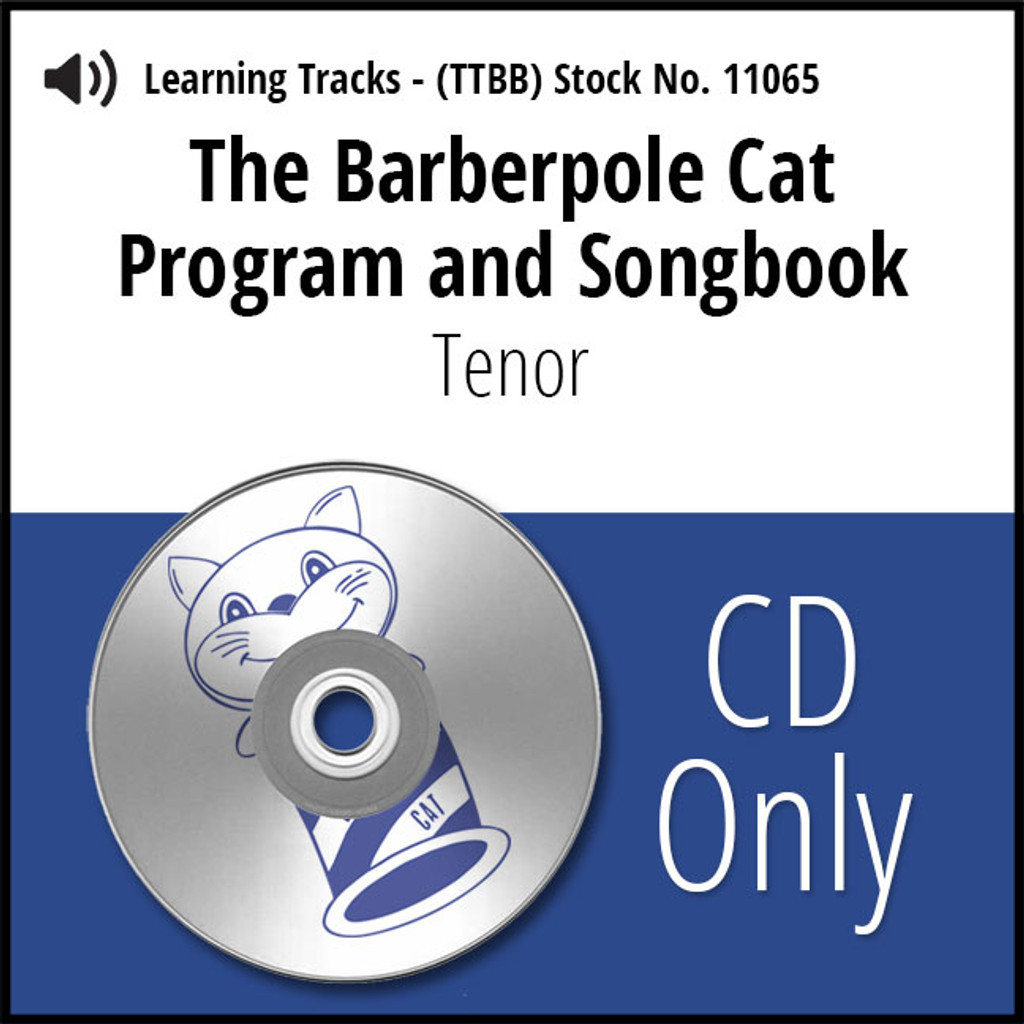 Barberpole Cat Songbook Vol. I (Tenor) - CD Learning Track for 209064