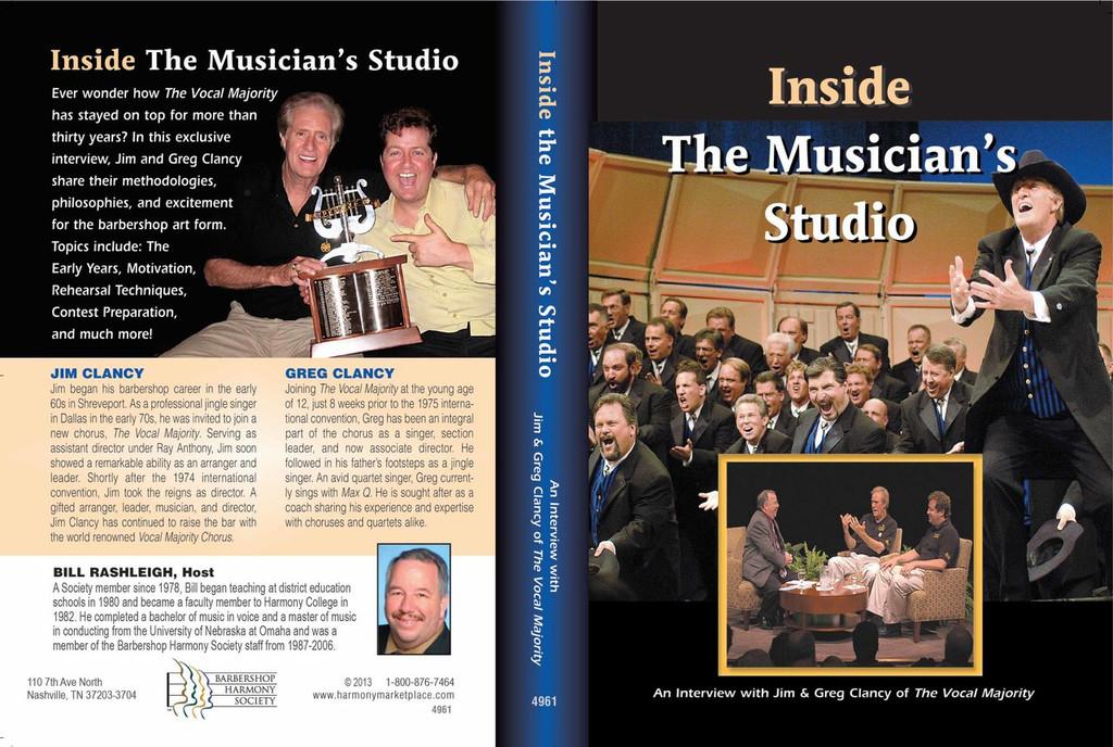 Inside The Musician's Studio vol 1 DVD