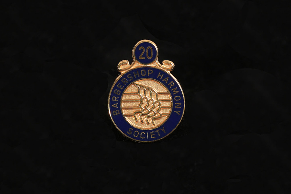Membership Anniversary Lapel Pins (20-45 Years)