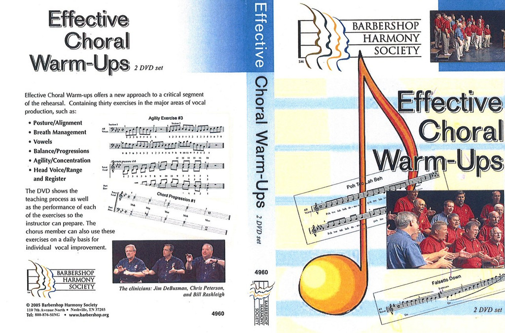 Effective Choral Warm Ups DVD