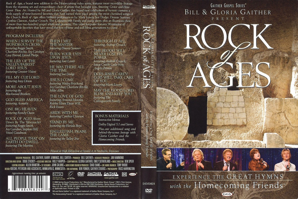 Rock of Ages- Bill Gaither w/ Friends DVD