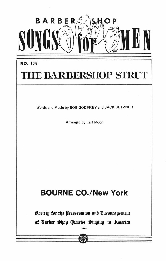 The Barbershop Strut (TTBB) (arr. Moon)