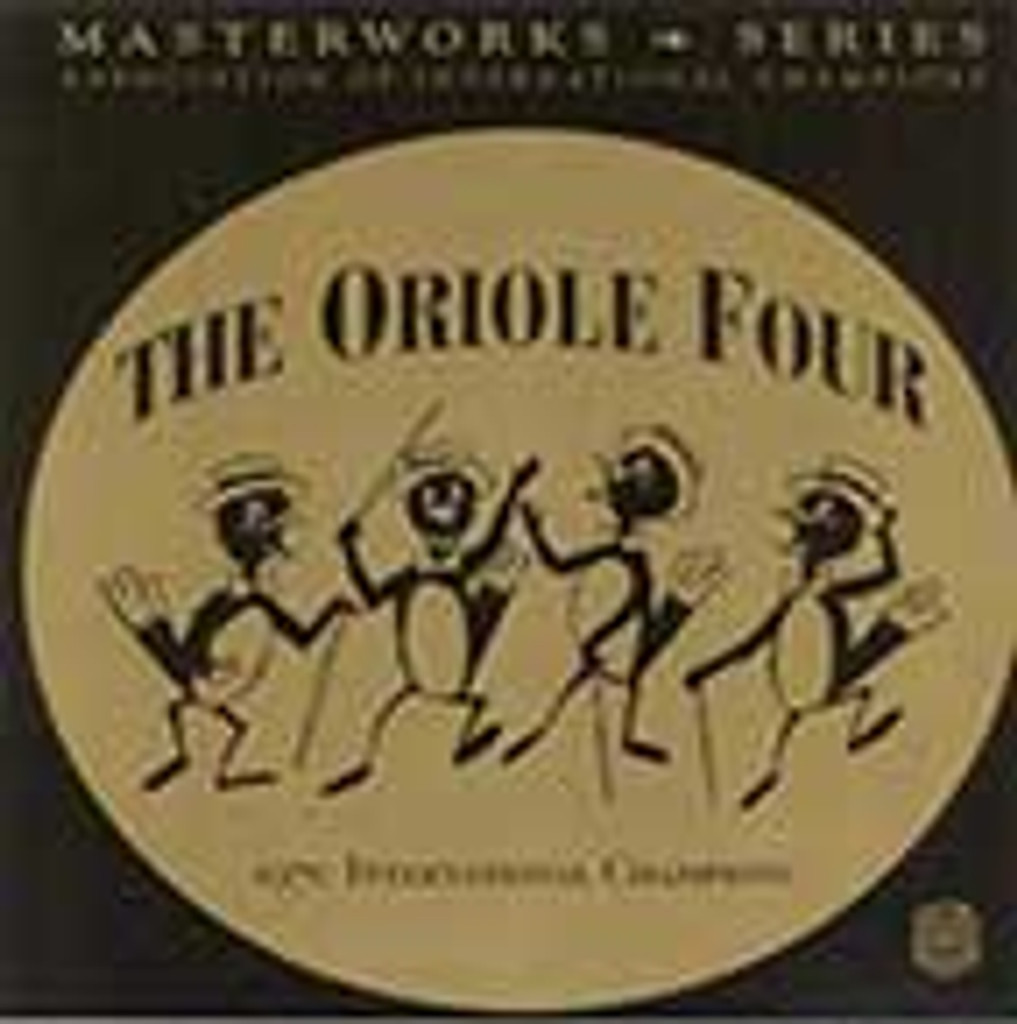 The Oriole Four - AIC Masterworks CD