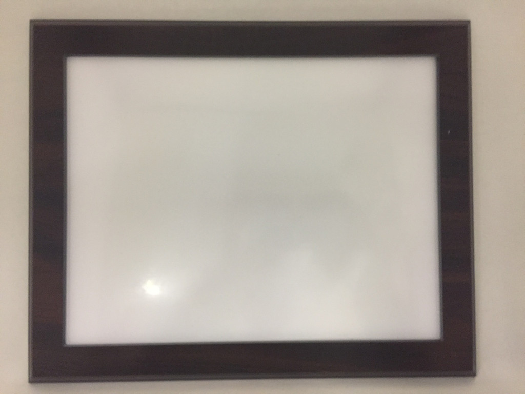 Walnut Certificate Frame