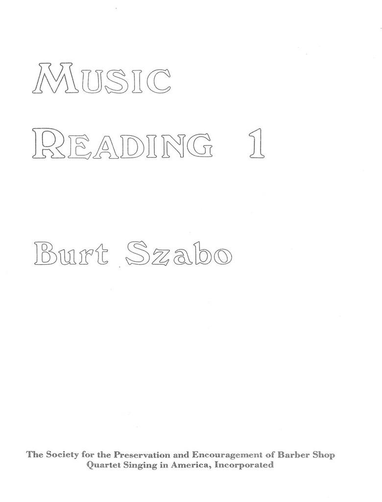 Music Reading 1