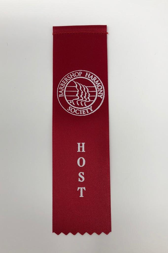 Host Ribbon - Red