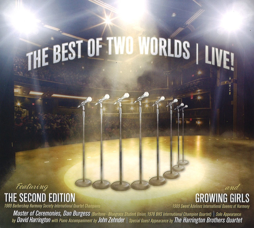 The Best of Two Worlds Live CD