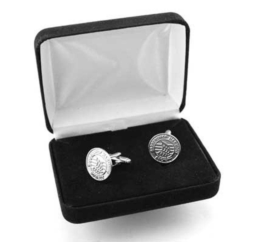 Silver Cuff Links w/ Logo