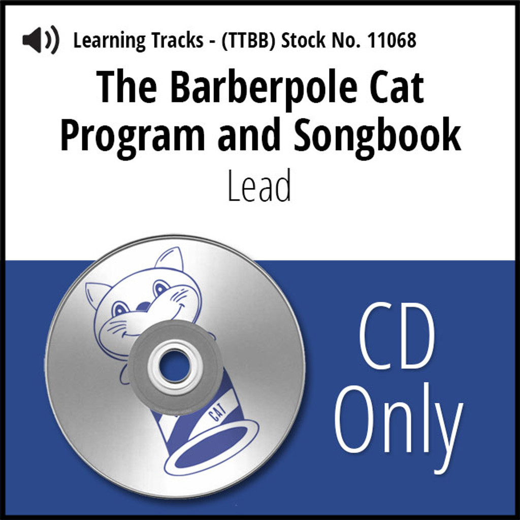 Barberpole Cat Songbook Vol. I (Lead) - CD Learning Track for 209064