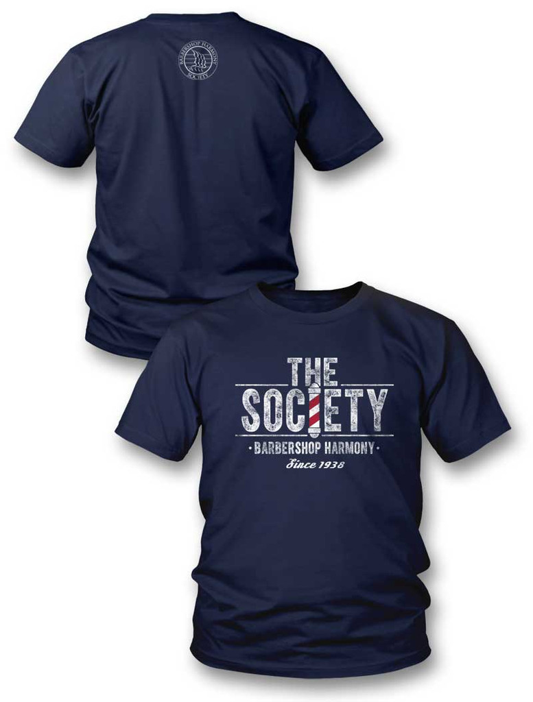 The Society T-Shirt - Navy