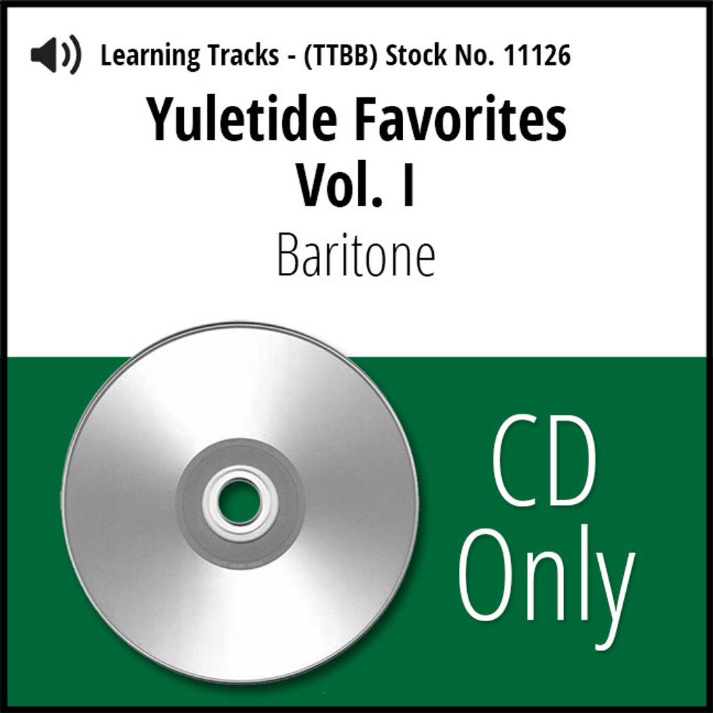 Yuletide Favorites Vol. I (Baritone) - CD Learning Tracks for 210860