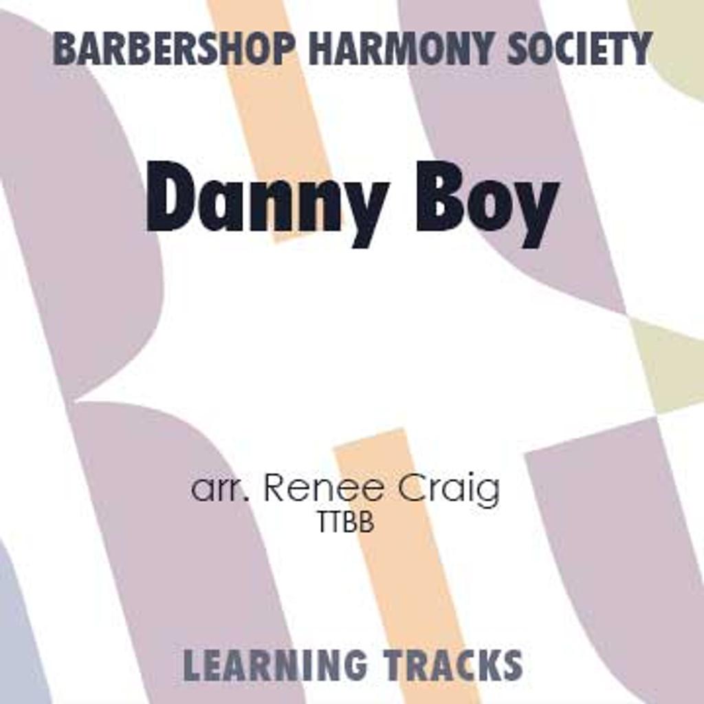 Danny Boy (TTBB) (arr. Craig)  - CD Learning Tracks for 7349