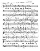 Old Time Love Song (TTBB) (arr. Mac Huff)-Download-UNPUB