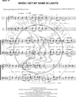 When I Get My Name In Lights (TTBB) (arr. Carole Prietto)-Download-UNPUB