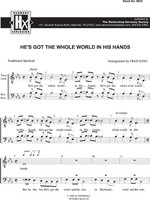 He's Got The Whole World (TTBB) (arr. King)