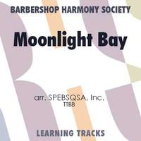 Moonlight Bay (Same As HHS) (TTBB) (arr. SPEBSQSA) - CD Learning Tracks for 214031
