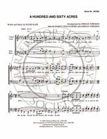 A Hundred And Sixty Acres (TTBB) (arr. Jordan Johnson)-Download-UNPUB
