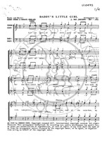 Daddy's Little Girl (TTBB) (arr. J Rae Jamieson)-UNPUB