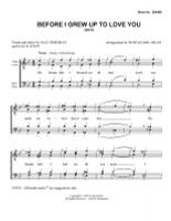 Before I Grew Up To Love You (TTBB) (arr. Burt Szabo)-Download-UNPUB