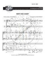 Mary Had a Baby (TTBB) (arr. Wright) - Download